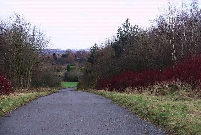 Access road, Broxtowe country park