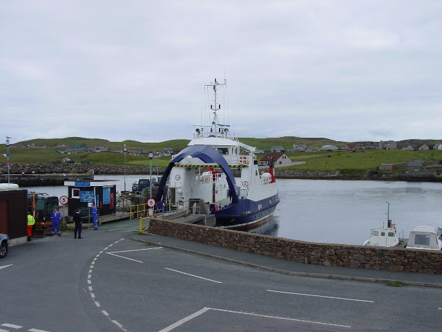 Whalsay Ferry at Symbister