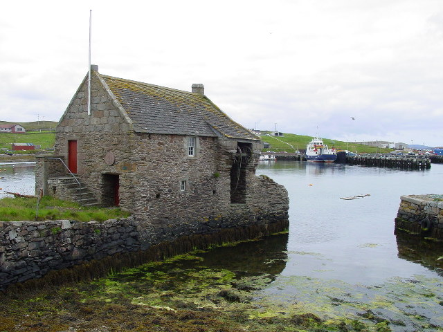 Hanseatic Trading Booth at Symbister Whalsay