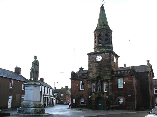 Lochmaben town centre