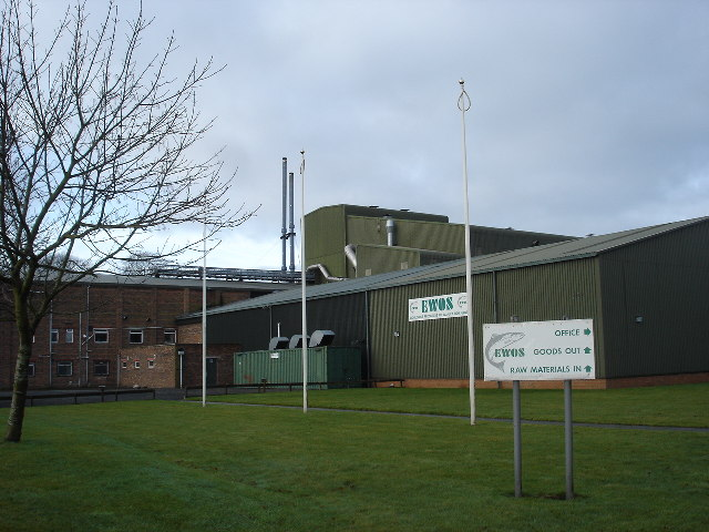 Fish Meal Factory, Westfield, West Lothian