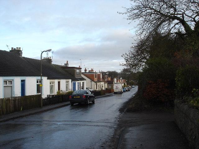 Bridgecastle village West Lothian