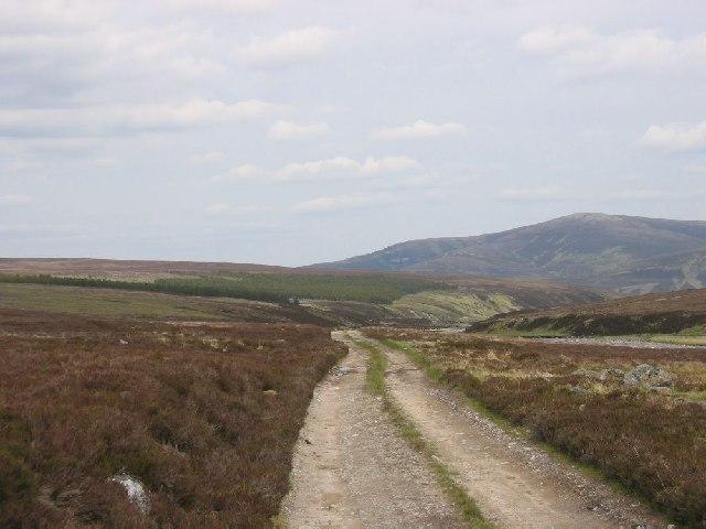 Heading east down the Geldie