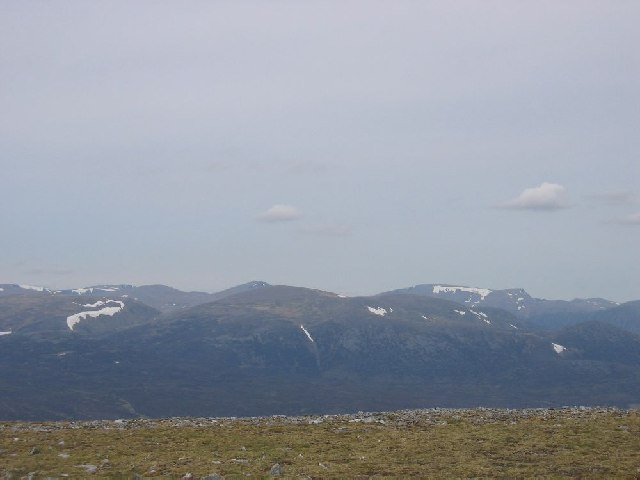 Cairngorms from the summit of An Sgarsoch