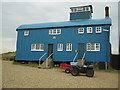 TF9945 : Old Lifeboat House, Blakeney Point by Phil Champion