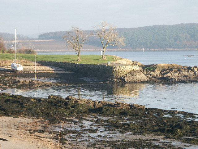 The Harbour and Pier at Donibristle