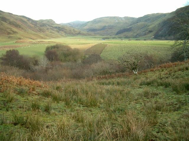 Gleann Domhainn from near Turnalt