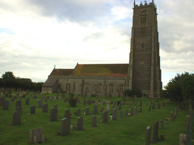 Church of the Holy Trinity and All Saints, Winterton on Sea
