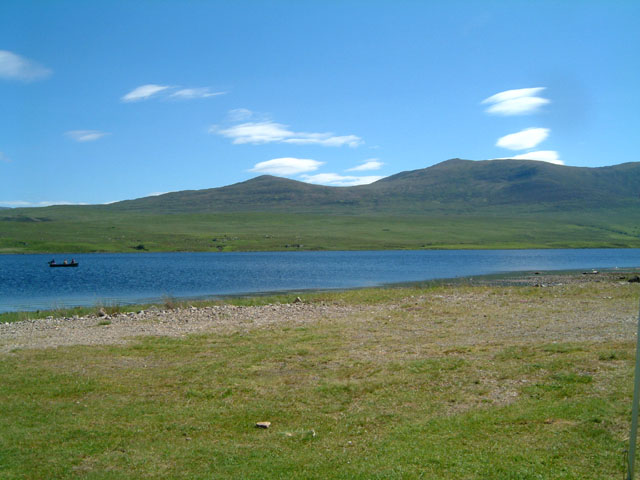 View across Loch Naver from Grummore