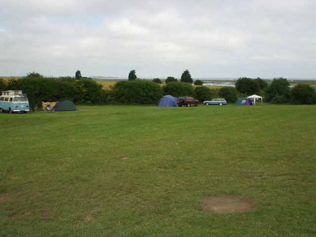 High Sand Creek campsite, Stiffkey