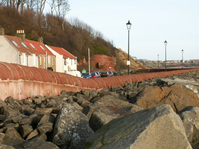 Coastal defences, East Wemyss