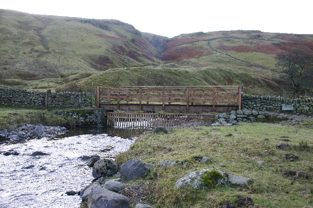 Footbridge over Aira Beck, Dowthwaitehead