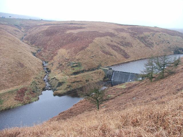Dam at Booth Dean.