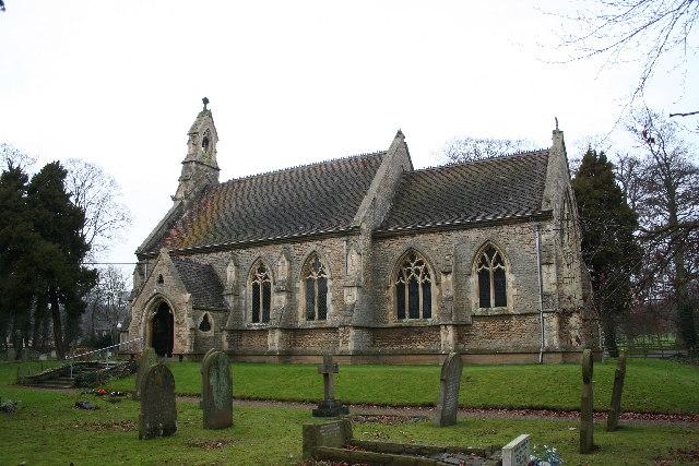 St.Mary's church, Riseholme, Lincs.