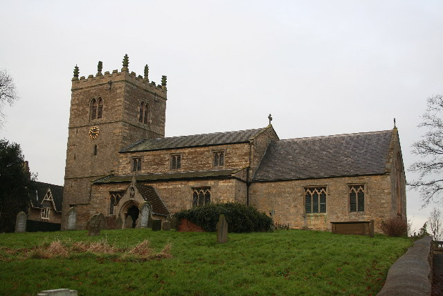 St.Chad's church, Dunholme, Lincs.