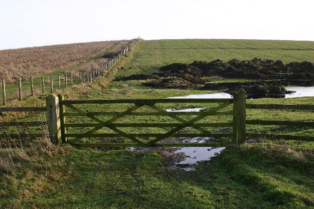 Farmland near Great Bavington