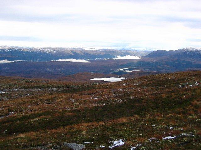 South slopes of Mam a' Chroisg.