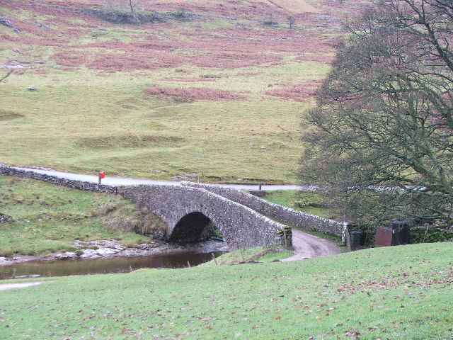 Bridge over the Wharfe.