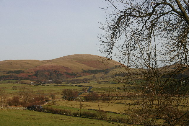 Gowbarrow Fell from Dowthwaitehead Lane
