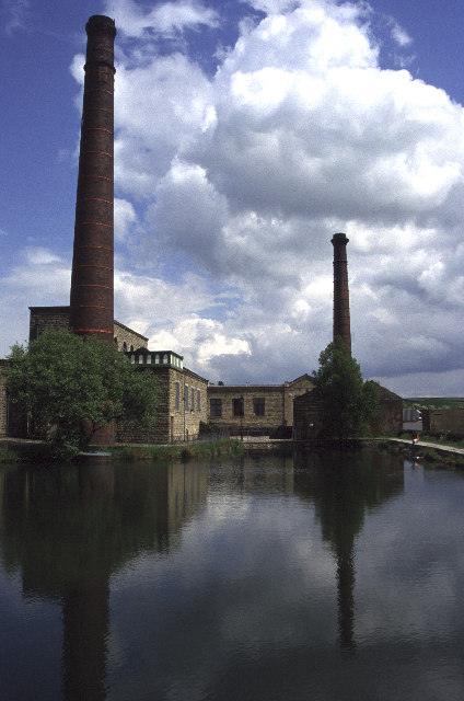 Queen Street Mill, Harle Syke