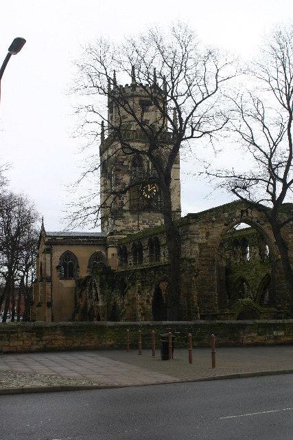 Pontefract church