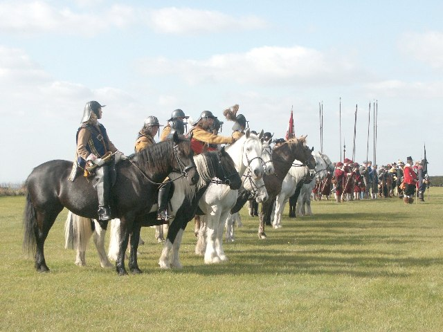 Re-enactment of the Battle of Winceby