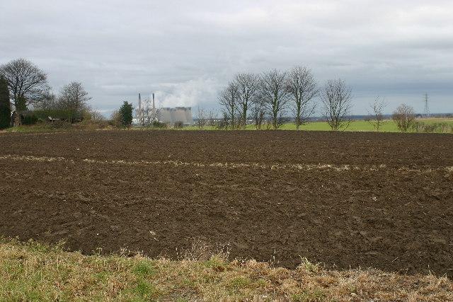 Farmland near Pontefract