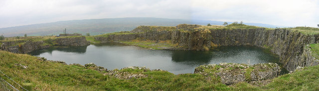 Quarry above Newbiggin, Teesdale