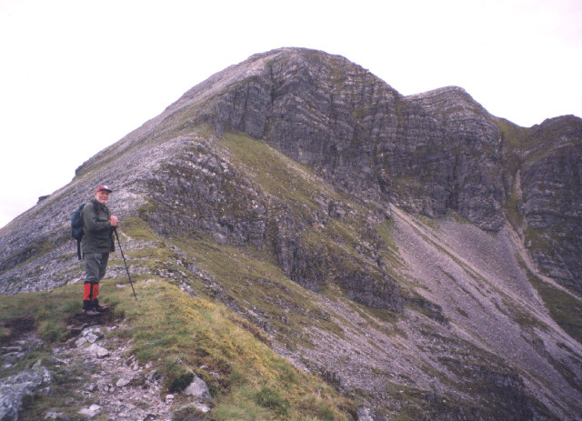 the north-east face of Stob Ban