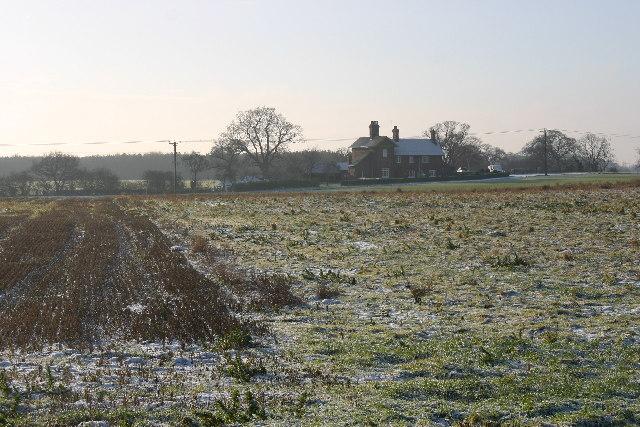 Towards Gothic House Farm