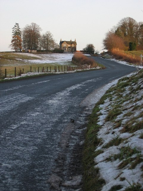 Looking East to Newmiln