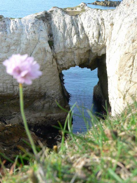 Bwa Gwyn Natural Arch.