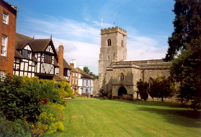 Holy Trinity Church and The Guildhall, Much Wenlock