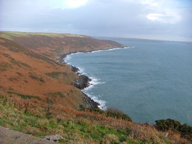 The Coast beyond Bull Cove from Rame Head
