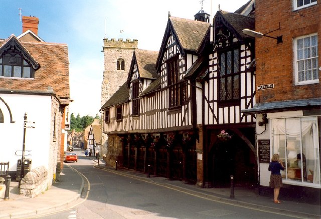 The Guildhall, Much Wenlock