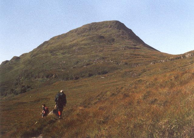 The North Ridge of Stob a'Choire Mheadhoin 1