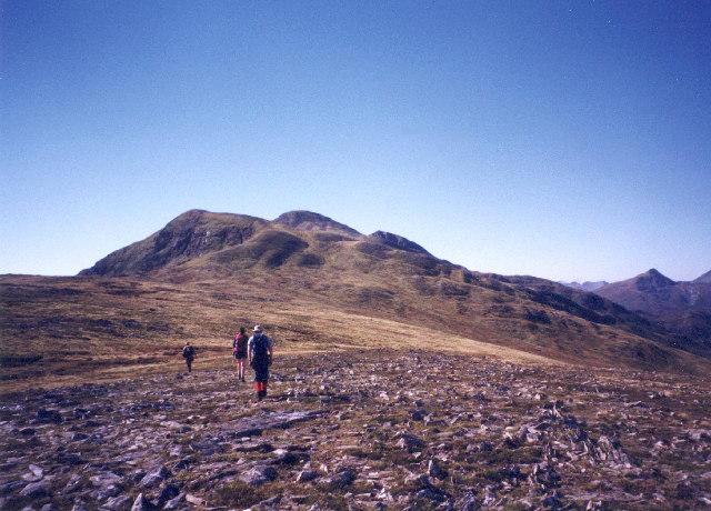 The North Ridge of Stob a'Choire Mheadhoin 3