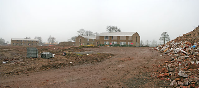 Clearance and Demolition at Scraptoft Campus, Leicester