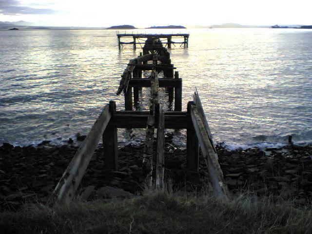 The Old Pier, Hawkcraig, Aberdour