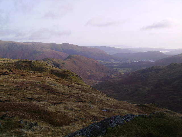 From Calf Crag