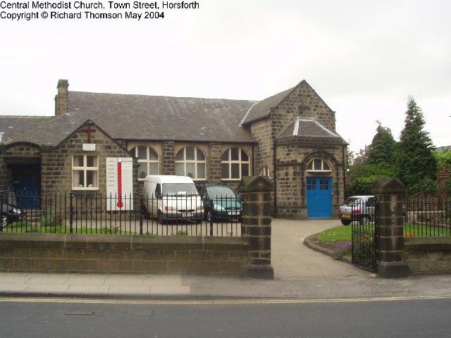 Central Methodist Church, Town Street, Horsforth, Leeds