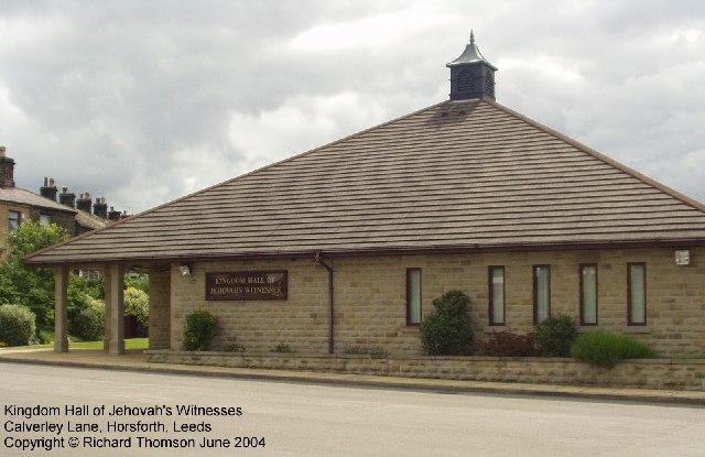 Kingdom Hall of Jehovahs Witnesses, CalverleyLane, Horsforth