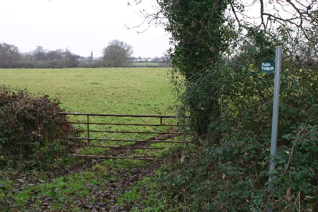 Footpath to Stone