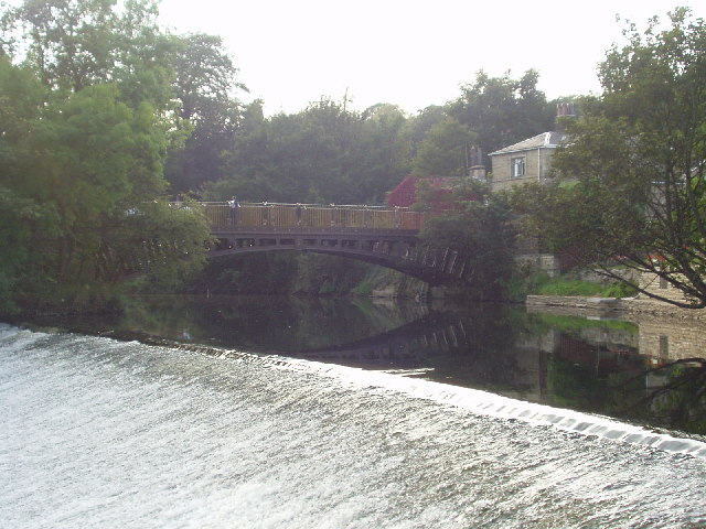 Newlay Bridge over River Aire, Horsforth