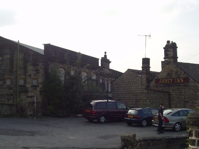 Newlay Dye Works and the Abbey Inn, Newlay, Leeds