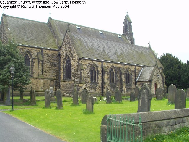 St James' Church, Low Lane, Horsforth