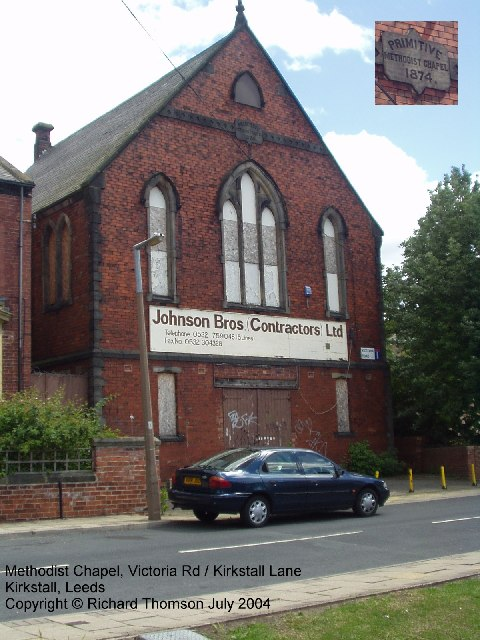 Methodist Chapel, Victoria Road, Kirkstall