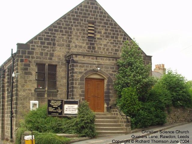 Christian Science Church, Quakers Lane, Rawdon