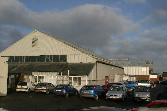Aero Club hangar and maintenance area, Newcastle Airport