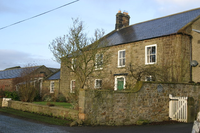 Black Callerton farmhouse